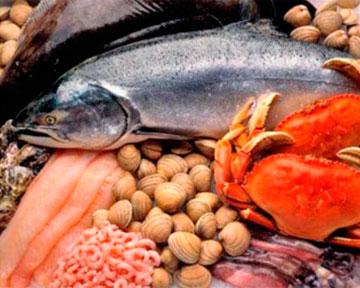 Рыба и морепродукты нежнее мяса, так как рыба и...