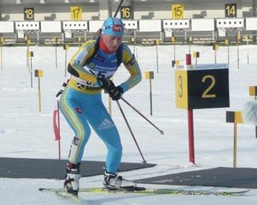 """Категория.  DELFI.  Спорт.  """"биатлон Вита Семеренко.  9. 3.89."""