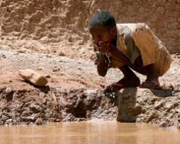 Под Африкой нашли большие запасы воды