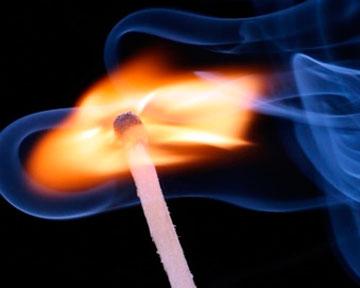 Новосибирец совершил поджог своей квартиры