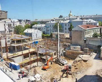 Суд запретил строительство возле Софийского собора