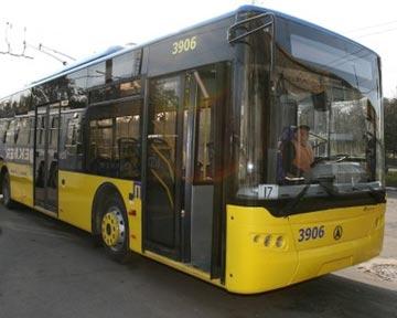 Завтра в Киеве изменят маршруты движения общественного транспорта Киев СЕГОДНЯ.