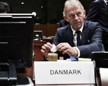 министр иностанных дел Дании Вилли Сьовндал