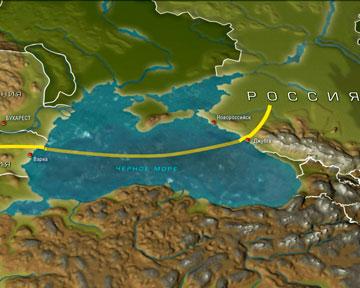 """Турция выдала разрешение на прокладку газопровода  """"Южный поток """" по дну Черного моряТурция. выдала разрешение России..."""