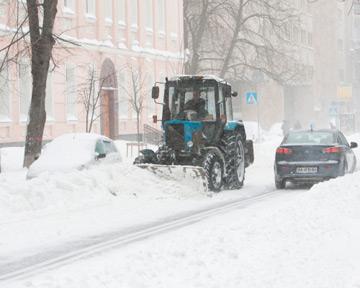 За уборкой снега в Киеве следит СБУ 895335_3