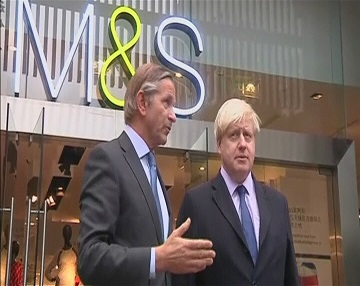 Мэр Лондона попросит денег у китайских инвесторов (видео)