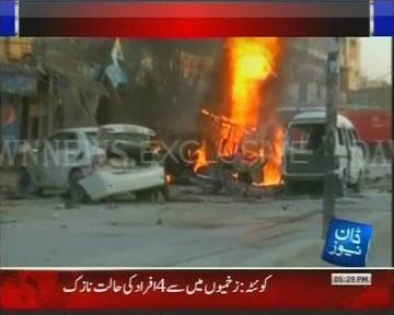 Теракт в Пакистане унес 5 жизней (видео)