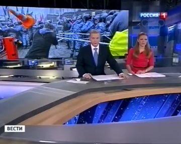 "На телеканале ""Россия-1"" представили свою версию истории на Евромайдане (видео)"