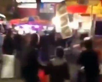 Нью-Йоркские полицейские ранили двоих прохожих на оживленной улице (видео)
