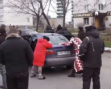 В Первомайске нардепы участвовали в задержании наркоторговцев (видео)