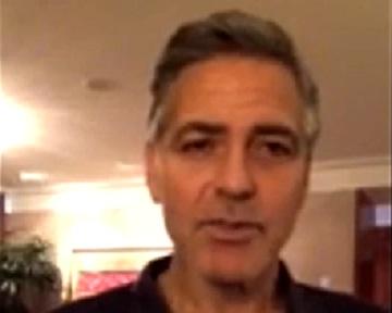 Джорд Клуни выступил в поддержку Майдана (видео)