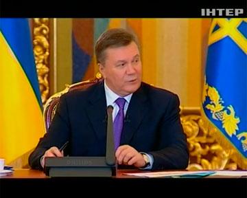 Виктор Янукович ответил на вопросы о внешней и внутренней политике (видео)