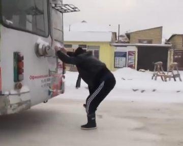 Дагестанцы придумали, как не платить за проезд в троллейбусе (видео)