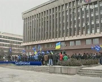 В Запорожье и Днепропетровске провели акции в поддержку мира (видео)