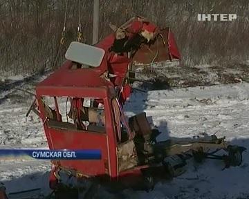 Сумщина скорбит по погибшим в аварии на железнодорожном переезде (видео)