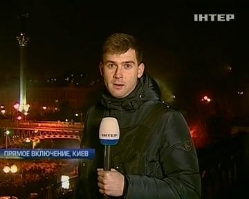 Пока на Майдане все спокойно (видео)