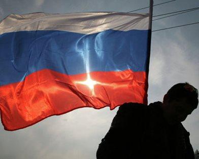 Над Луганской ОГА подняли российский флаг