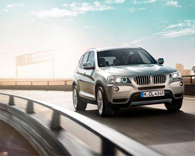 BMW презентовала на Женевском автосалоне мощное трио