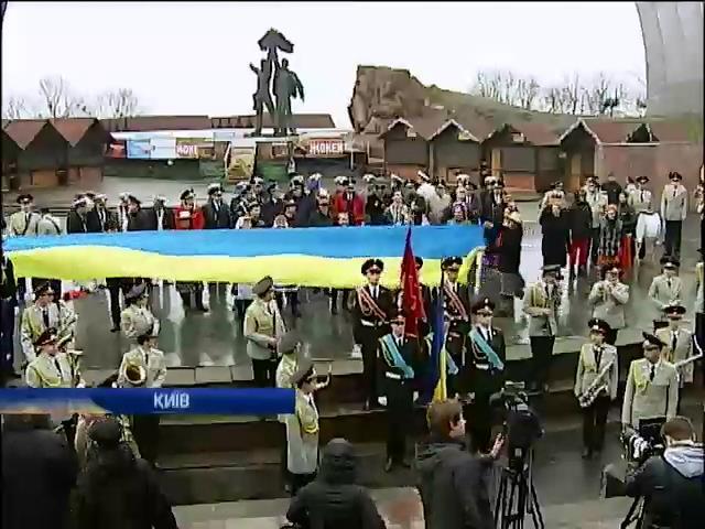 Для поднятия боевого духа крымских солдат в Киеве записали видеообращение (видео)