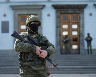 Президент РФ:  в Крыму происходит единение между российскими и украинскими военнослужащими