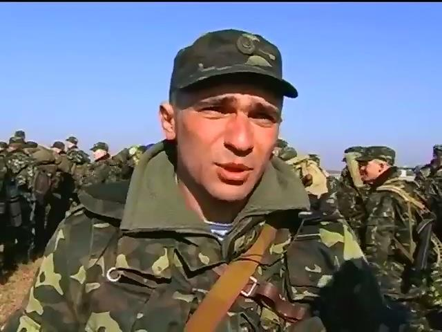 Украинские военные проводят масштабные учения на полигонах (видео)
