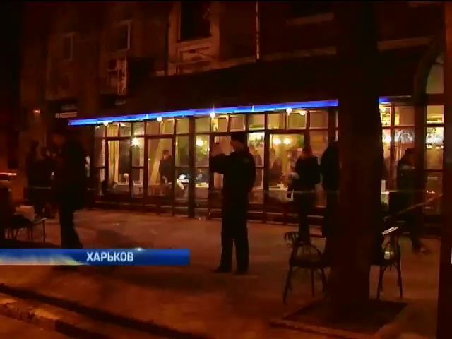 В центре Харькова расстреляли двоих бизнесменов (видео)