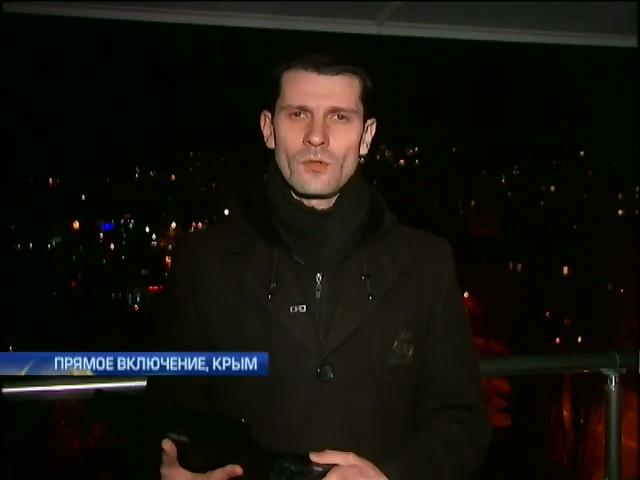 Из Севастополя движется колонна военной техники (видео)