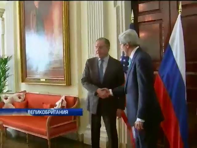 Переговоры Кэрри и Лаврова идут несколько часов (видео)