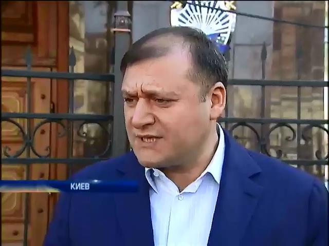 Добкина допросили по второму уголовному делу (видео)