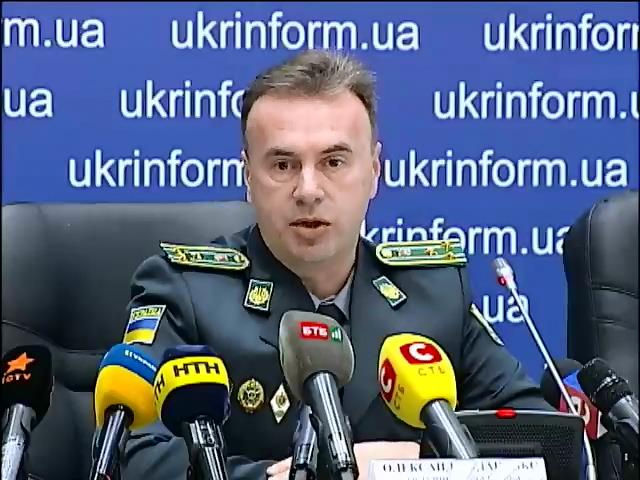 Украинские пограничники готовы применить оружие в случае агрессии (видео)
