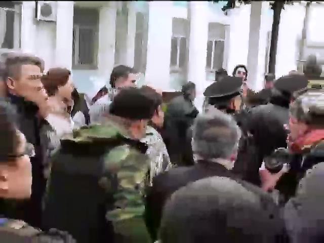 В Крыму освободили задержанных украинских активистов (видео)