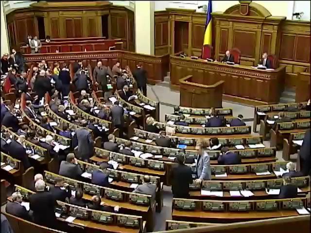 Нардепы приняли декларацию о борьбе за освобождение Украины (видео)