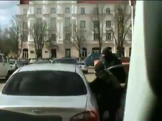 В Чернигове задержали российского шпиона (видео)