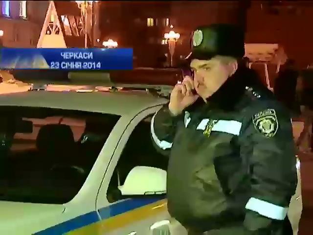 Черкасских милиционеров обвиняют в фальсификации уголовного дела (видео)