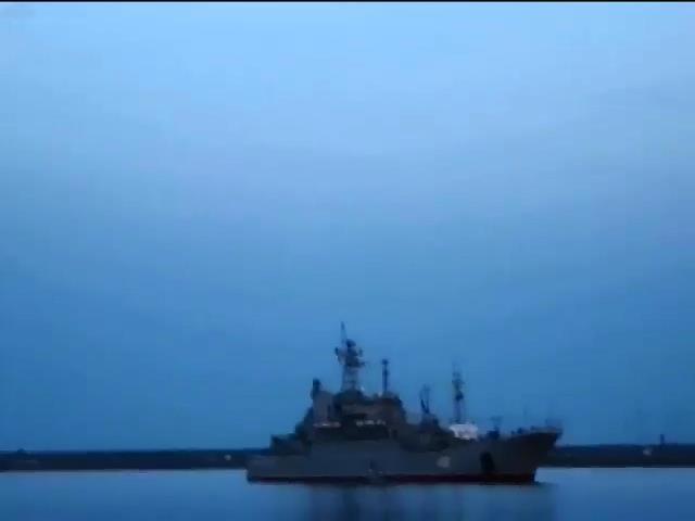 """Перед началом штурма """"Ольшанского"""" украинские моряки испортили электронику и двигатели (видео)"""