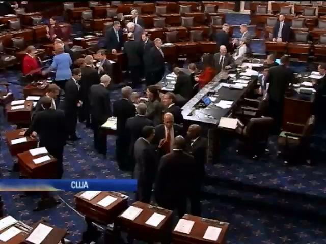 Американский сенат предварительно одобрил помощь Украине (видео)