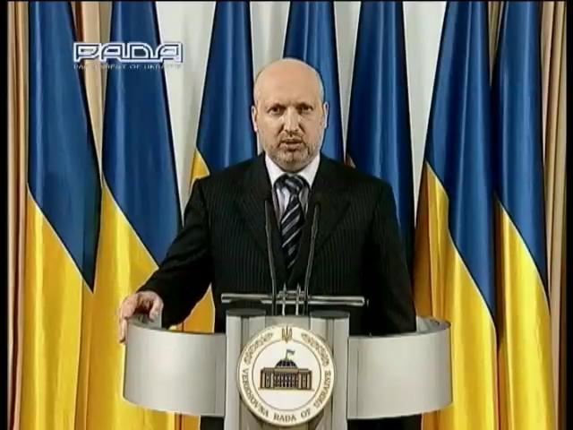 Турчинов пообещал провести самые честные выборы в истории (видео)