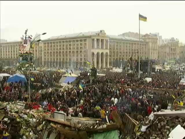В воскресенье на Майдане пройдет траурное вече (видео)