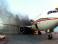 У швейцарского самолета в аэропорту Лондона взорвался один из двигателей, три человека госпитализированы