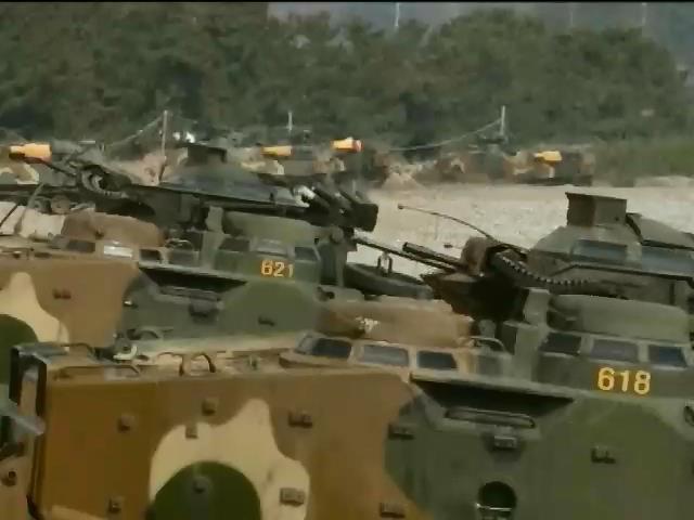 Военные КНДР и Южной Кореи обменялись артиллерийскими залпами (видео)