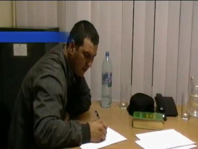 СБУ заявляет, что поймала шпиона из Приднестровья (видео)