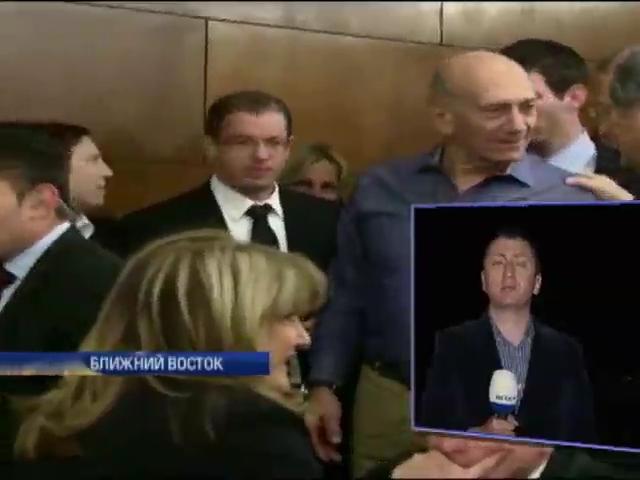 Суд признал экс-премьера Израиля Эхуда Ольмерта коррупционером и взяточником (видео)