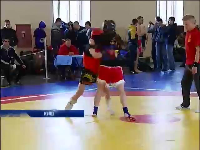 В столице прошел чемпионат Украины по кунг-фу (видео)