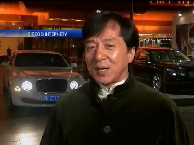 Джеки Чан празднует 60 день рождения (видео)