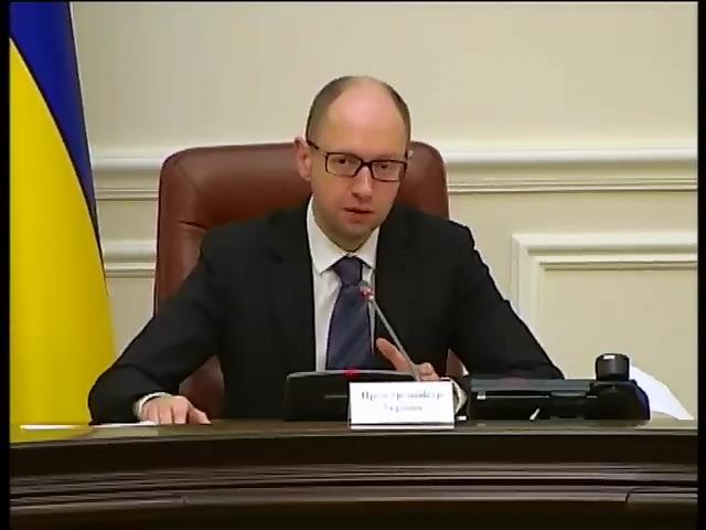 Яценюк увидел происки Москвы в событиях на Востоке (видео)