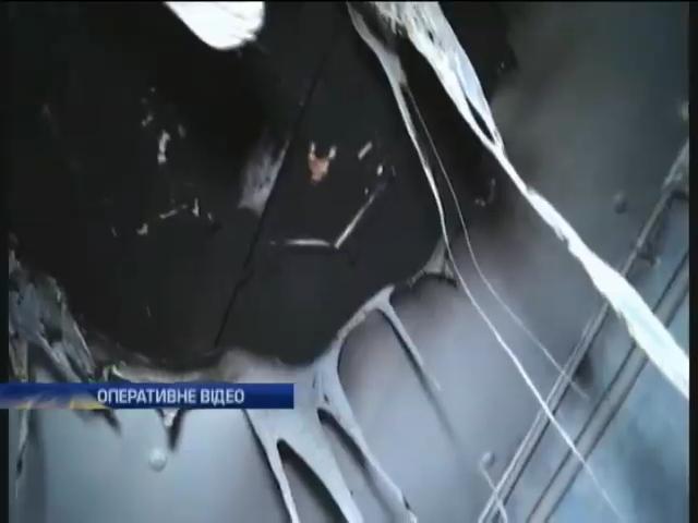 На Харьковщине горел роддом (видео)