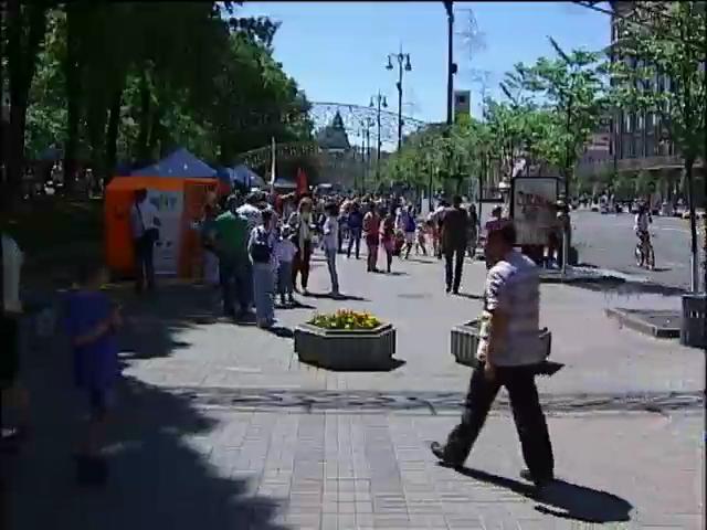 Из-за выборов День Киева перенесли на 31 мая (видео)