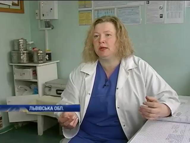 Львовская медсестра стала героиней Майдана (видео)