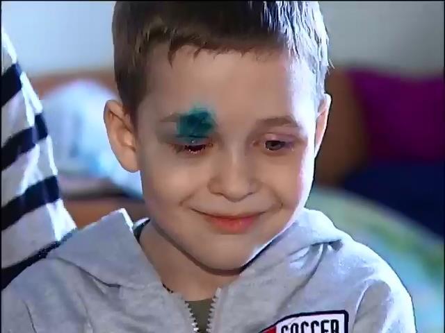 В столичном детсаде ребенок травмировал себе глаз (видео)