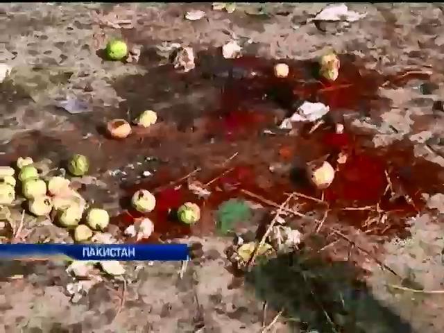 Теракт в Пакистане унес жизни 23 человек (видео)